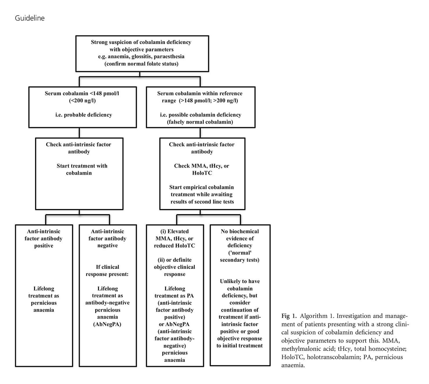 BSH guideline